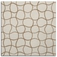 rug #399777 | square mid-brown check rug