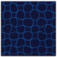 rug #399793 | square blue check rug