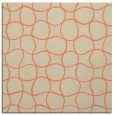 rug #399821 | square beige circles rug