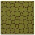 rug #399853 | square purple circles rug