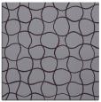 rug #399861 | square purple check rug