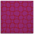 rug #399877 | square red circles rug