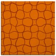 rug #399881 | square red-orange check rug
