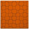 rug #399889 | square red-orange circles rug