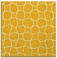 rug #399913 | square yellow check rug