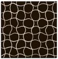 rug #399921 | square brown check rug