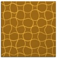 rug #399929 | square yellow check rug