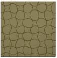 rug #399957 | square light-green circles rug