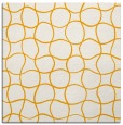 rug #399961 | square light-orange circles rug