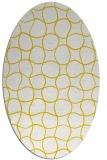 rug #400163 | oval check rug