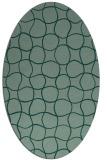 rug #400184 | oval circles rug