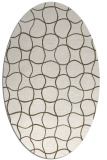 rug #400271 | oval circles rug