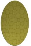 rug #400299   oval check rug