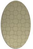 rug #400304 | oval circles rug