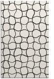 rug #400333 |  black check rug
