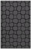 rug #400337 |  black check rug