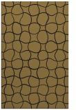 rug #400349 |  mid-brown circles rug