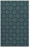 rug #400361 |  blue check rug