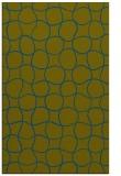 rug #400389 |  blue-green check rug