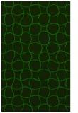 rug #400397 |  green circles rug