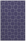 rug #400417    blue-violet check rug