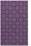 rug #400425 |  purple check rug