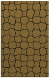 rug #400445 |  mid-brown circles rug