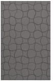 rug #400477 |  mid-brown circles rug