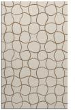 rug #400481 |  mid-brown check rug