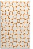 rug #400521 |  orange check rug