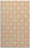rug #400525 |  orange check rug