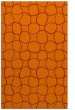 rug #400585 |  red-orange check rug