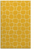 rug #400617 |  yellow circles rug