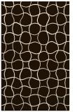 rug #400625 |  brown check rug