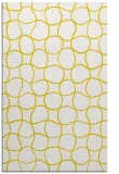 rug #400629 |  yellow circles rug