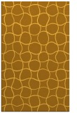 rug #400633 |  yellow circles rug