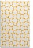 rug #400665 |  light-orange circles rug