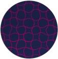 rug #400710 | round check rug