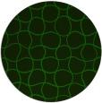 rug #400749 | round green circles rug