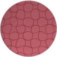 rug #400775   round check rug