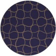 rug #400790 | round check rug