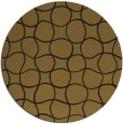 rug #400797 | round black rug