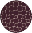 rug #400837 | round pink circles rug