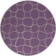 rug #400861 | round beige circles rug