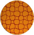 rug #400872 | round check rug