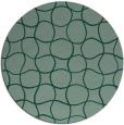 rug #400888 | round check rug