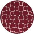 rug #400894 | round check rug