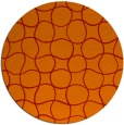 rug #400925 | round red check rug