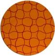 rug #400925 | round red circles rug