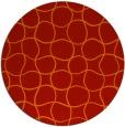 rug #400926 | round check rug